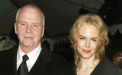 Nicole Kidman con padre Antony