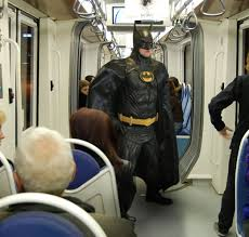 batman in metro